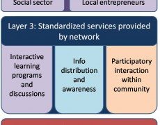 Building sustainable rural information service networks