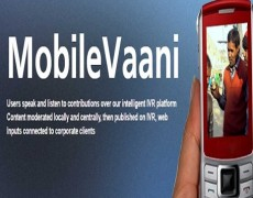 A Comparison of MobileVaani with Radio and Digital Media