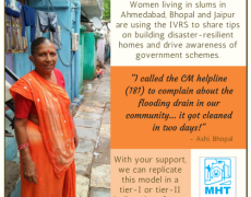 Building resilience in urban slum communities with Mahila Housing SEWA Trust