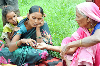 How can we encourage women in rural India to access maternal health information through their mobile phones? Lessons from JEEViKA Mobile Vaani